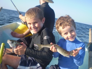 A nice skippy for Louis and Jacob's 'George King' whiting